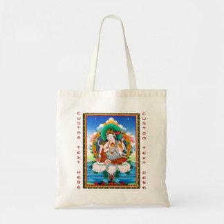 Cool tibetan thangka Cintamanicakra Avalokitesvara Tote Bag