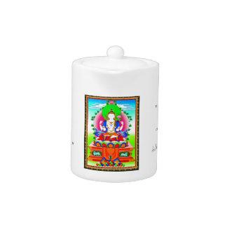 Cool tibetan thangka Shadakshari Avalokiteshvara