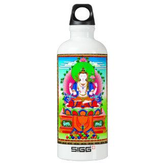 Cool tibetan thangka Shadakshari Avalokiteshvara SIGG Traveler 0.6L Water Bottle