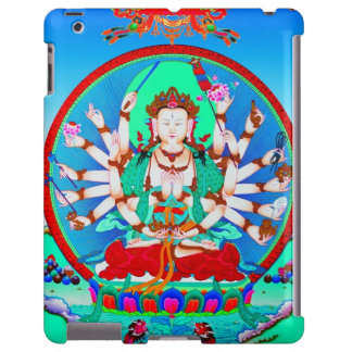 Cool tibetan thangka tattoo Cundhi Bodhisattva
