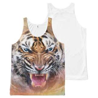 cool tiger designs All-Over print tank top