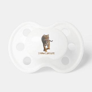 cool Tiger designs Pacifier