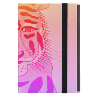 Cool Tiger Face iPad kickstand case iPad Mini Cover