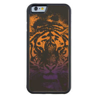 Cool Tiger Face iPhone 6 Case Carved® Maple iPhone 6 Bumper