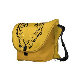 Cool Tiger Face Messenger Bag
