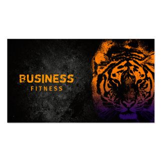 Cool Tiger Fitness Business Cards