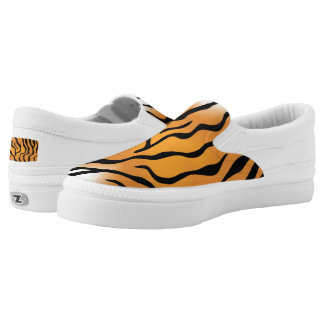 cool tiger skin shoe designs printed shoes