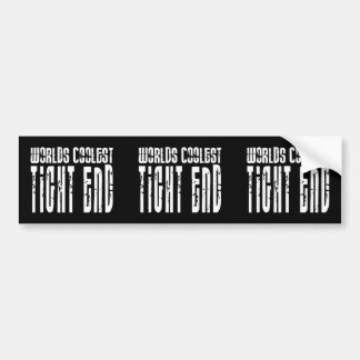 Cool Tight Ends : Worlds Coolest Tight End Bumper Sticker