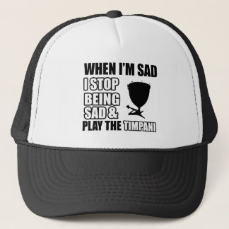 Cool Timpani designs Trucker Hat