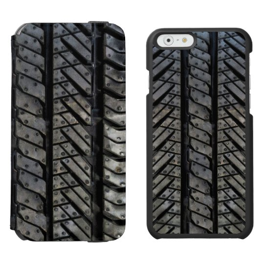 Cool Tire Rubber Automotive Texture Decor Incipio Iphone Wallet Case
