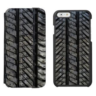 Cool Tire Rubber Automotive Texture Decor iPhone 6/6s Wallet Case