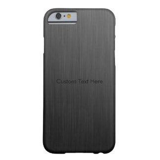 Cool Titanium Barely There iPhone 6 Case