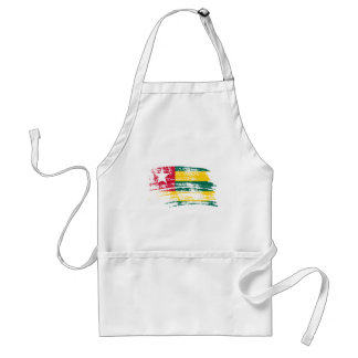 Cool Togolese flag design Adult Apron