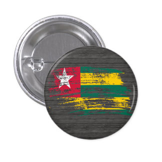 Cool Togolese flag design Button