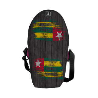 Cool Togolese flag design Courier Bag