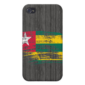 Cool Togolese flag design Cover For iPhone 4