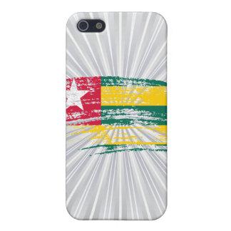 Cool Togolese flag design iPhone 5 Case