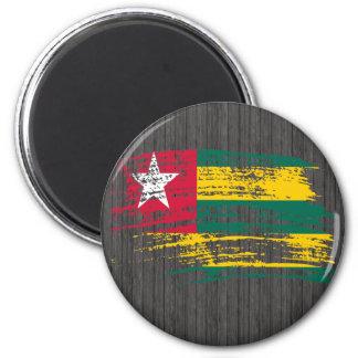 Cool Togolese flag design Fridge Magnets