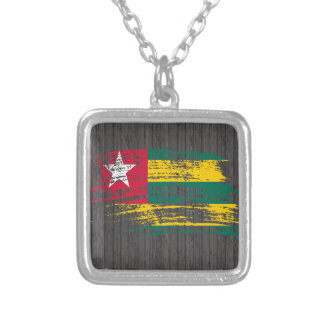 Cool Togolese flag design Necklace