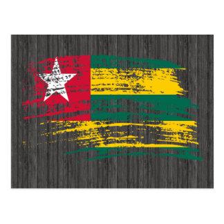 Cool Togolese flag design Postcard
