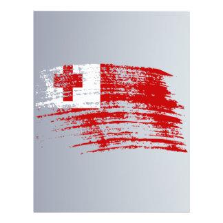 Cool Tongan flag design Flyer Design
