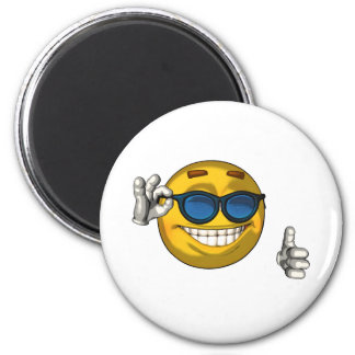Cool - toon 2 inch round magnet