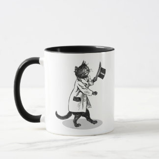 Cool Top Hat Cat Mug