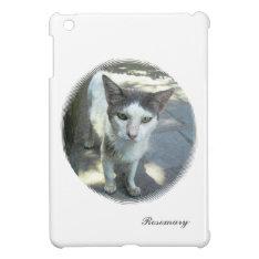 Cool Town Cat Green Eyes Ipad Mini Case at Zazzle