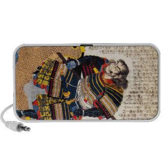 Cool traditional classic japanese warrior samurai mp3 speakers