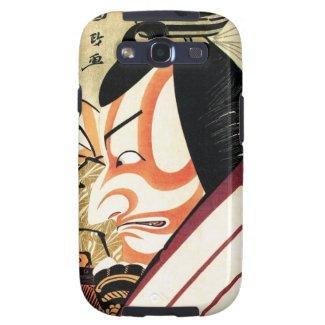 Cool Traditional Japanese Kabuki Samurai Tadamasa Samsung Galaxy S3 Covers