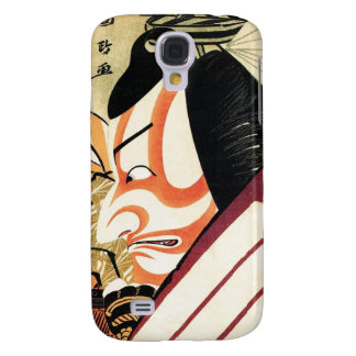 Cool Traditional Japanese Kabuki Samurai Tadamasa Samsung Galaxy S4 Case