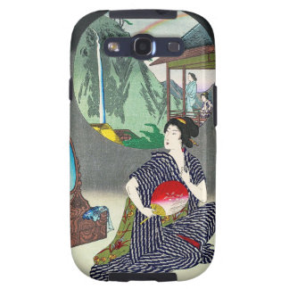 Genuine woodprint painting of geishas excellent idea