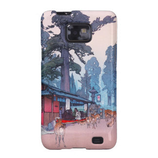 cool traditional oriental japanese classic forest samsung galaxy s2 cases