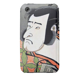 Cool Traditional Oriental Japanese Samurai tattoo iPhone 3 Case
