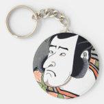 Cool Traditional Oriental Japanese Samurai tattoo Key Chain