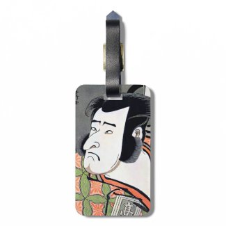 Cool Traditional Oriental Japanese Samurai tattoo Tags For Bags