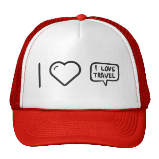 Cool Travel Trucker Hat