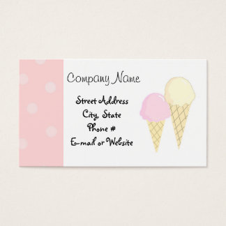 Cool Treats Business Card