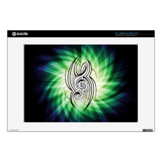 Cool Trebel Clef Laptop Decal