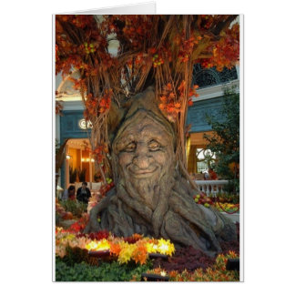 Cool Tree Dude Card