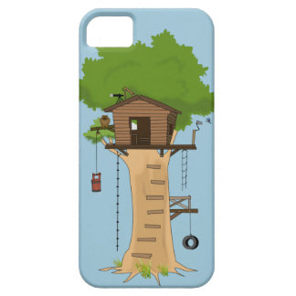 Cool Tree House Owl Tire Swing Custom Color iPhone SE/5/5s Case