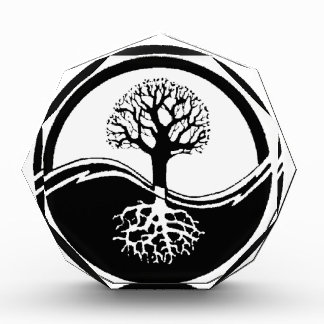 cool tree in black and white award