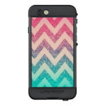 Cool Trendy  Ombre Zigzag Chevron Pattern LifeProof NÜÜD iPhone 6s Case