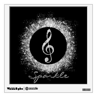Cool trendy sparkles glitter dust shining effects wall stickers