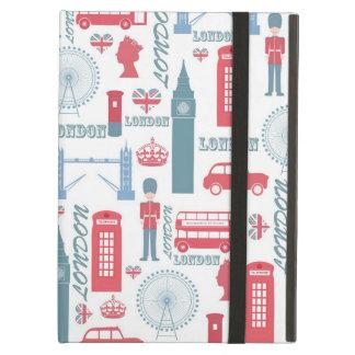 Cool trendy vintage London landmark illustrations iPad Cases