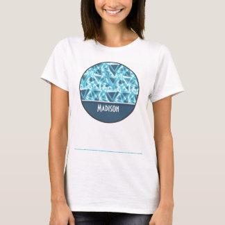 Cool Triangle; Blue T-Shirt