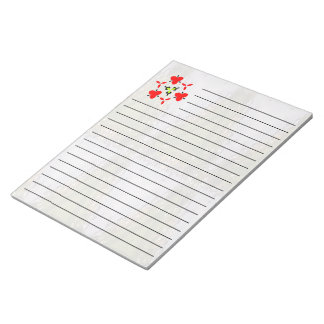 Cool triangle unique pattern notepad