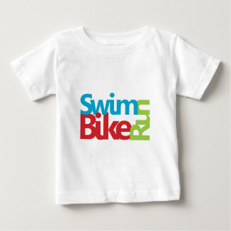 Cool Triathlon logo Baby T-Shirt