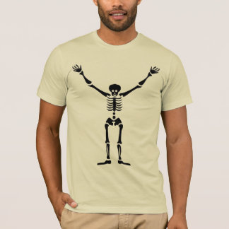 Cool Tribal Ancient Egyptian Skeleton Symbol Art T-Shirt