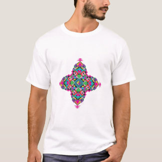 Cool Tribal Aztez Pattern Design T-Shirt